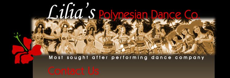 Lilia's Polynesian Dance Company private and corporate entertainment